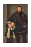 Iseppo and Adriano Da Porto Giclee Print by  Veronese