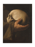 St Francis in Meditation Giclee Print by  Caravaggio
