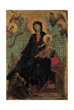 Madonna of the Franciscans Giclee Print by Duccio Di buoninsegna