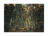 The Forest of Fontainebleau Giclee Print by Giuseppe Palizzi