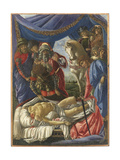 Histories of Judith the Discovery of the Corpse of Holofernes Giclee Print by  Botticelli