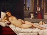 Venus of Urbino Giclée-tryk af  Titian (Tiziano Vecelli)
