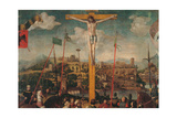 Crucifixion Giclee Print by Sergio Anelli