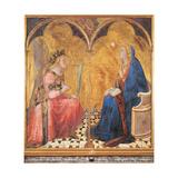 Annunciation Giclee Print by Lorenzetti Ambrogio