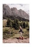Sandro Pertini Makes An Hike Giclee Print