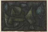 A Park Late in the Evening (Ein Park Abends Spät) Giclee Print by Paul Klee