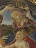 Madonna with Child and Five Angels (Madonna Del Magnificat) Wydruk giclee autor Sandro Botticelli