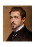 Self-portrait Giclee Print by Fabbri Paolo Egisto