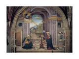 Annunciation Giclee Print by Bernardino  di Betto (Pinturicchio)