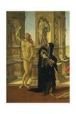Calumny of Apelles Giclee Print by Sandro Botticelli