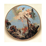 The Discovery of the True Cross and St Helena Giclee Print by Giambattista Tiepolo