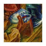 The Drinker Giclee Print by Umberto Boccioni
