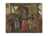 Adoration of the Magi (stained glass) Reproduction procédé giclée par  Botticelli