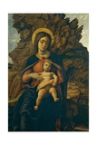 Madonna of the Cave Giclee Print by Mantegna Andrea