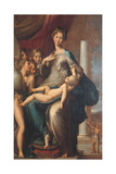 Madonna with the Long Neck Giclee Print by  Parmigianino