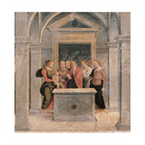Presentation of Jesus at the Temple Giclee Print by  Perugino