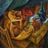 The Drinker Giclee Print by Umberto Boccioni