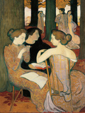 The Muses (Or Sacred Wood) Impression giclée par Maurice Denis