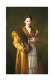 Anteas Portrait (Portrait of Young Woman) Giclee Print by  Parmigianino