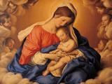 The Sleep of the Infant Jesus Giclee Print by  Giovanni Battista Salvi da Sassoferrato
