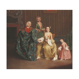 The Tailor Giclee Print by Pietro Longhi