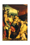 Madonna with St Jerome (the Day) Giclee Print by  Correggio