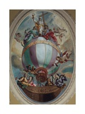 Virtue on a Balloon Giclee Print by Vincenzo Angelo Orelli
