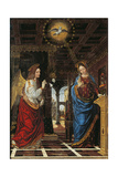 Annunciation Giclee Print by  Bergognone