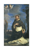 St Peter Martyr Giclee Print by  il Guercino