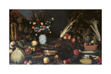Still Life with Flowers Giclee Print by Master of Hartford