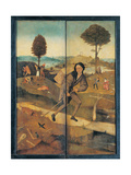 The Hay Wagon (Triptych of Hay) - the Path of Life Giclee Print by Hieronymus Bosch