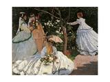 Women in the Garden Reproduction procédé giclée par Claude Monet