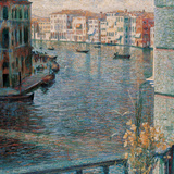 The Grand Canal in Venice Giclee Print by Boccioni Umberto