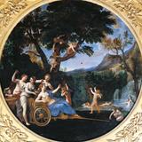Venus at Her Toilet Giclée-tryk af Francesco Albani