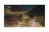 Bezzecca Battle (La Battaglia Di Bezzecca) Giclee Print by Felice Zennaro