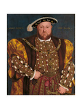 Portrait of Henry VIII Giclee Print by Hans il Giovane Holbein