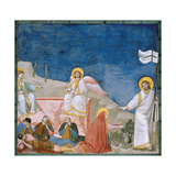 Stories of the Passion of Christ the Resurrection Giclee Print by  Giotto