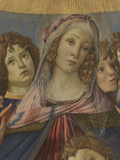 Virgin and Child with Six Angels (Madonna of the Pomegranate) Giclee Print by Sandro Botticelli