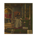 The Vision of St Augustine Giclee Print by Vittore Carpaccio
