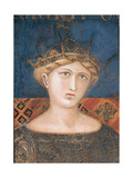 Allegory of Good Government Giclee Print by Lorenzetti Ambrogio