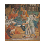 Birth of the Virgin Giclee Print by Bernardino Luini