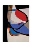 Tempera Painting Giclee Print by Burri Alberto