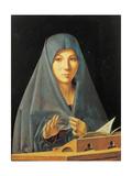 The Virgin Annunciate Giclee Print by Antonello Antonio