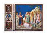 Stories of Christ the Raising of Lazarus Giclee Print by  Giotto di Bondone
