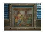 Stories of the Passion Christ Before Caiphas Giclee Print by  Giotto di Bondone