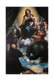 Madonna and Child with St Joseph Giclee Print by  St Catherine