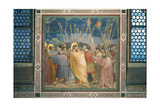 Stories of the Passion the Kiss of Judas Giclee Print by  Giotto di Bondone