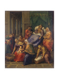 Birth of the Virgin Mary (Nascita Di Maria Vergine) Giclee Print by Sebastiano Filippi (Bastianino)