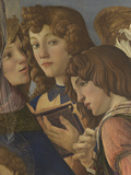 Virgin and Child with Six Angels (Madonna of the Pomegranate) Giclee Print by  Botticelli