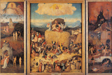 The Hay Wagon (the Tryptych of Hay) Giclée-Druck von Hieronymus Bosch